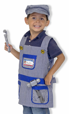 Melissa & Doug Train Engineer Role Play Costume Set - Click to enlarge