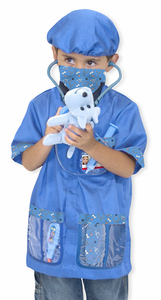 Melissa & Doug Veterinarian Role Play Costume Set - Click to enlarge