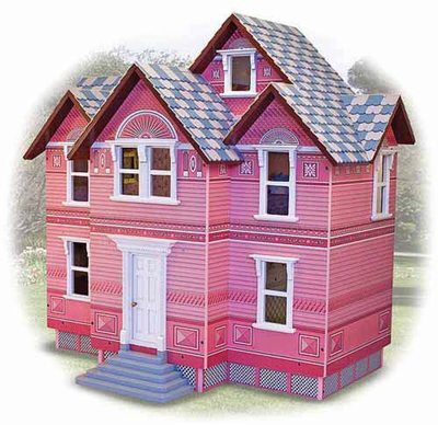 Melissa & Doug Victorian Dollhouse - Click to enlarge