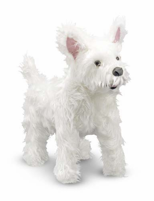 Melissa & Doug West Highland Terrier (Westie) - Plush