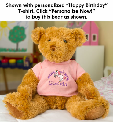 Melissa & Doug Wheatley Bear - Click to enlarge
