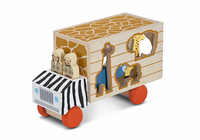 Melissa & Doug Wildlife Rescue Sorting Truck