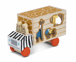 Melissa & Doug Wildlife Rescue Sorting Truck - Click to enlarge