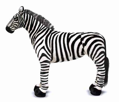 Melissa & Doug Zebra - Plush - Click to enlarge