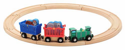 Melissa & Doug Zoo Animal Train Set - Click to enlarge