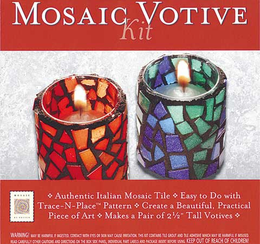 Mosaic Votive Kit
