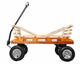 MOUNTAIN BOY SLEDWORKS Butterfly Wagon - Click to enlarge