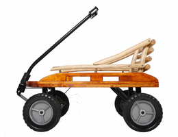 MOUNTAIN BOY SLEDWORKS Grasshopper Wagon (uses Bambino Grande Pad) - Click to enlarge