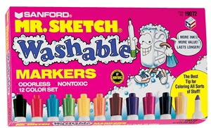 MR. SKETCH Washable Markers - Set of 216 School Pack.