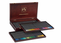 MUSEUM AQUARELLE PENCILS 84 pc WOOD Set