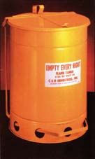 Oily Waste Can - 10 gallon capacity