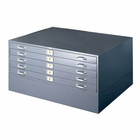 OPTIONAL BASE FOR STACKABLE 5-DRAWER BALL BEARING FLAT FILES