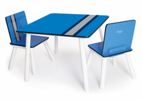P'kolino Classically Cool Tables and Chairs - Racing Stripes