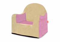 P'kolino Little Reader Chair -Pink with Tan