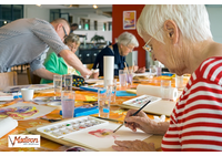 Painting for better, overall health for seniors!
