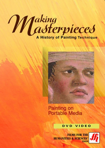 Painting on Portable Media Video(VHS/DVD)