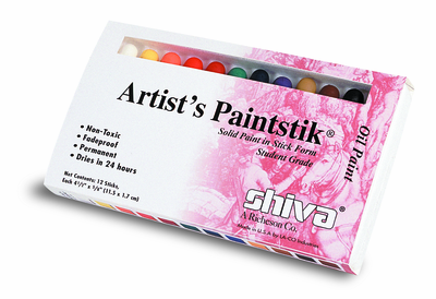 SHIVA Paintstiks Set of 12 Student Colors