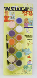 Palmer CHILDREN'S  Washable Poster Paint (12 pots total net 2 1/4 fl. oz.)