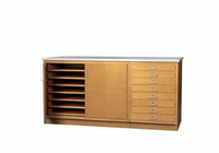 "Paper Storage Cabinet - 1-1/4"" top 35-3/4""H"