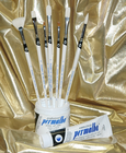 Permalba� Beginner Oil Brush White Bristle Set of (7)
