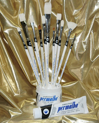 Permalba� Deluxe Oil Brush Set of (12)