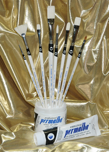 Permalba� Intermediate Oil Brush Set of (8)