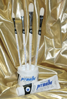 Permalba� Oil Brush White Bristle Perfect FILBERT� Set of (4)