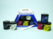 PRIMA ACRYL PRIMARY COLOR SET (5 JAR 236ML) & MORE