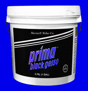 PRIMA BLACK GESSO GALLON