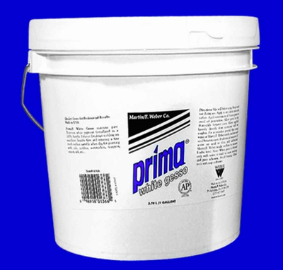 PRIMA WHITE GESSO GALLON