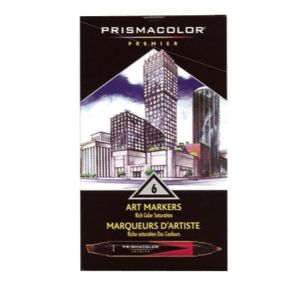 Prismacolor Art Color Markers  - 6 color set