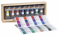 Quiller Watercolor Wooden Box Set of 8 (15ml)