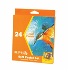 REEVES Soft Pastel Set of 24