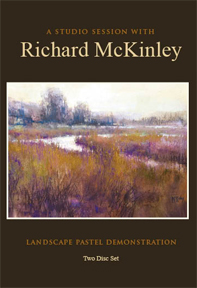 Richard McKinley - Pastel Studio Session - 2 DVD SET - Click to enlarge