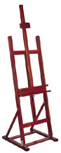 Richeson Lyptus� Wood Bassett Easel - Click to enlarge