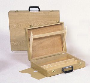 Richeson WOODEN Art Box - Click to enlarge