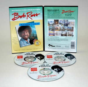 ROSS DVD JOY OF PAINTING SERIES 10. FEATURING 13 SHOWS - Click to enlarge