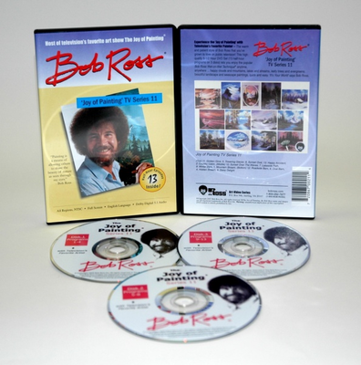 ROSS DVD JOY OF PAINTING SERIES 11. FEATURING 13 SHOWS - Click to enlarge