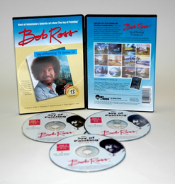 ROSS DVD JOY OF PAINTING SERIES 12. FEATURING 13 SHOWS - Click to enlarge