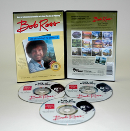 ROSS DVD JOY OF PAINTING SERIES 13. FEATURING 13 SHOWS - Click to enlarge