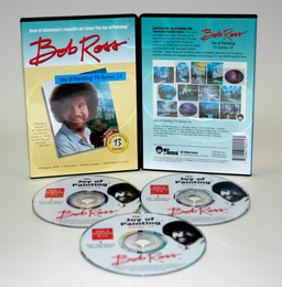ROSS DVD JOY OF PAINTING SERIES 14. FEATURING 13 SHOWS - Click to enlarge