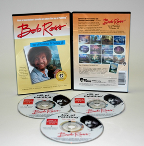 ROSS DVD JOY OF PAINTING SERIES 15. FEATURING 13 SHOWS - Click to enlarge