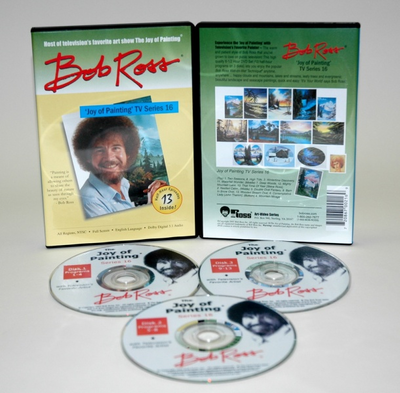 ROSS DVD JOY OF PAINTING SERIES 16. FEATURING 13 SHOWS - Click to enlarge