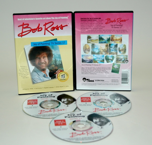 ROSS DVD JOY OF PAINTING SERIES 17. FEATURING 13 SHOWS - Click to enlarge