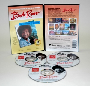 ROSS DVD JOY OF PAINTING SERIES 18. FEATURING 13 SHOWS - Click to enlarge