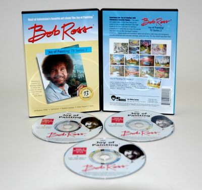ROSS DVD JOY OF PAINTING SERIES 2. FEATURING 13 SHOWS - Click to enlarge
