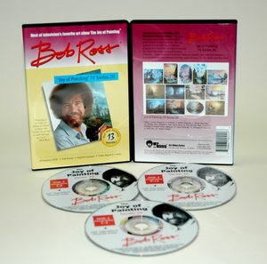 ROSS DVD JOY OF PAINTING SERIES 20. FEATURING 13 SHOWS - Click to enlarge
