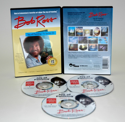 ROSS DVD JOY OF PAINTING SERIES 21. FEATURING 13 SHOWS - Click to enlarge