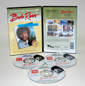 ROSS DVD JOY OF PAINTING SERIES 22. FEATURING 13 SHOWS - Click to enlarge