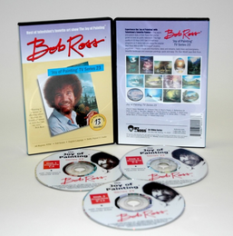 ROSS DVD JOY OF PAINTING SERIES 23. FEATURING 13 SHOWS - Click to enlarge